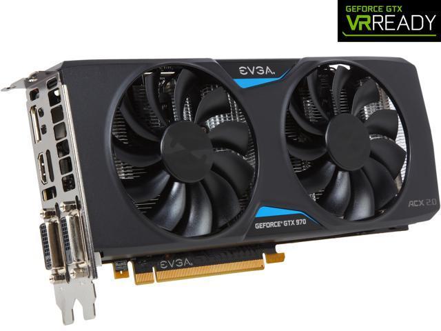 EVGA GeForce GTX 970 04G-P4-2974-KR 4GB SC GAMING w/ACX 2 0, Silent Cooling  Graphics Card - Newegg com