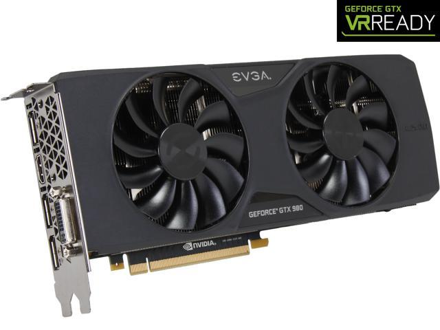 EVGA GeForce GTX 980 04G-P4-2983-KR 4GB SC GAMING w/ACX 2 0, 26% Cooler and  36% Quieter Cooling Graphics Card - Newegg com