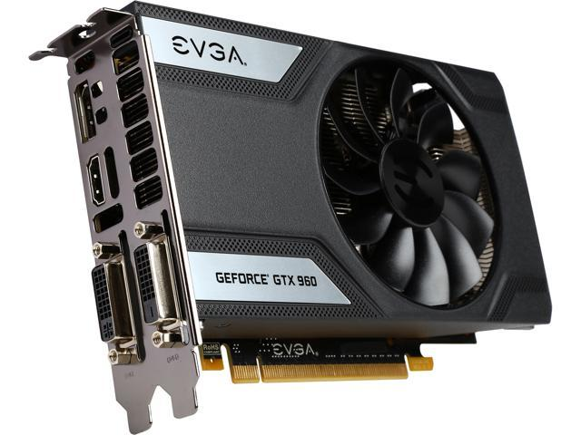 EVGA GeForce GTX 960 04G-P4-3962-KR 4GB SC GAMING, Only 6 8 inches, Perfect  for mITX Build Graphics Card - Newegg com