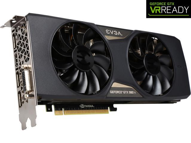EVGA GeForce GTX 980 Ti 06G-P4-4995-KR 6GB SC+ GAMING w/ACX 2 0+, Whisper  Silent Cooling w/ Free Installed Backplate Graphics Card - Newegg com