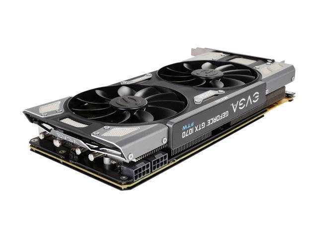 EVGA GeForce GTX 1070 FTW GAMING ACX 3 0, 08G-P4-6276-KR, 8GB GDDR5, RGB  LED, 10CM FAN, 10 Power Phases, Double BIOS, DX12 OSD Support (PXOC) -