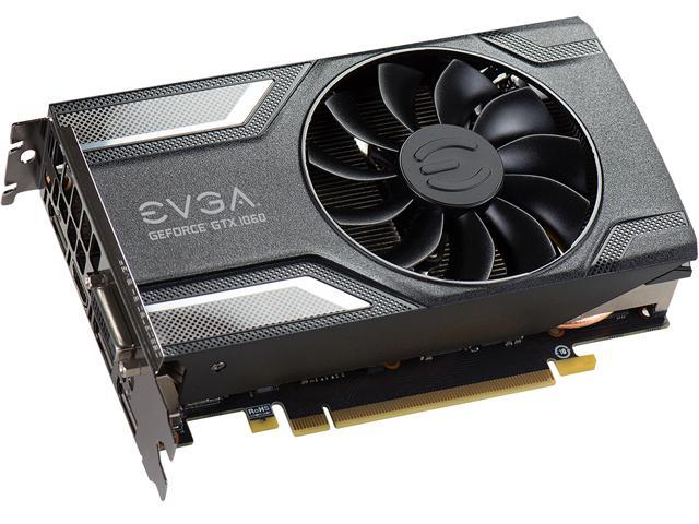 EVGA GeForce GTX 1060 SC GAMING, ACX 2 0 (Single Fan), 03G-P4-6162-KR, 3GB  GDDR5, DX12 OSD Support (PXOC) - Newegg com