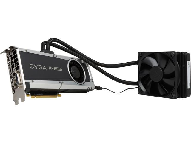 EVGA GeForce GTX 1080 HYBRID GAMING, 08G-P4-6188-KR, 8GB GDDR5X, LED, DX12  OSD Support (PXOC) - Newegg com