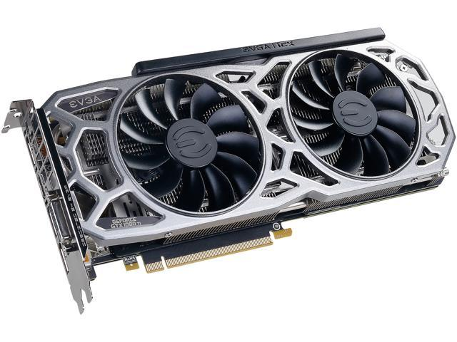 EVGA GeForce GTX 1080 Ti SC2 GAMING, 11G-P4-6593-KR, 11GB GDDR5X, iCX  Technology - 9 Thermal Sensors & RGB LED G/P/M - Newegg com