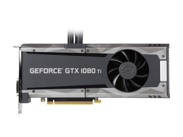 EVGA GeForce GTX 1080 Ti SC2 HYBRID GAMING, 11G-P4-6598-KR, 11GB GDDR5X,  HYBRID & LED, iCX Technology - 9 Thermal Sensors - Newegg com