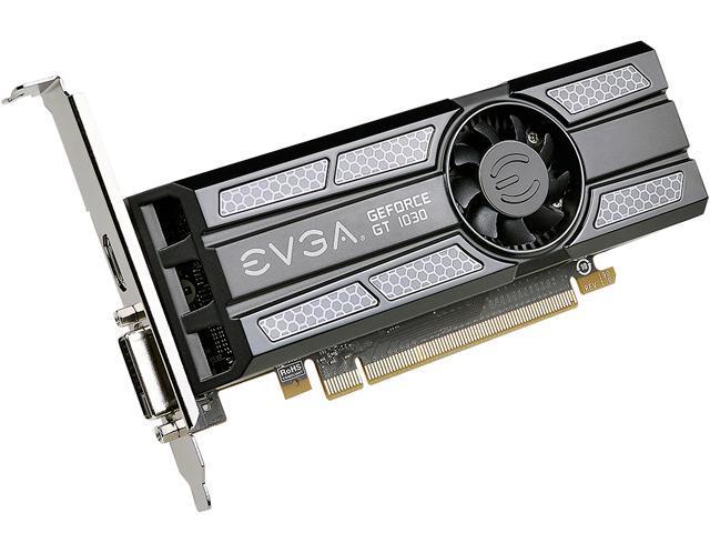 EVGA GeForce GT 1030 SC, 02G-P4-6333-KR, 2GB GDDR5, Low Profile - Newegg com