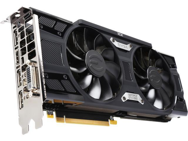 EVGA GeForce GTX 1060 FTW2 GAMING, 9GHz, 06G-P4-6768-KR, 6GB GDDR5, iCX - 9  Thermal Sensors & LED G/P/M - Newegg com