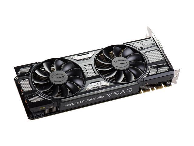 EVGA GeForce GTX 1070 Ti SC GAMING 08G-P4-5671-KR 8GB GDDR5 ACX 3 0 & Black  Edition - Newegg com