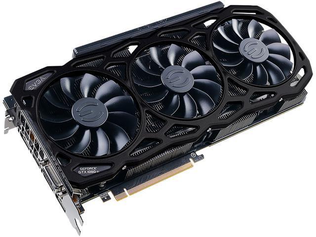 EVGA GeForce GTX 1080 Ti FTW3 ELITE GAMING BLACK, 11G-P4-6796-K2, 11GB  GDDR5X, iCX Technology - 9 Thermal Sensors & RGB LED G/P/M - Newegg com