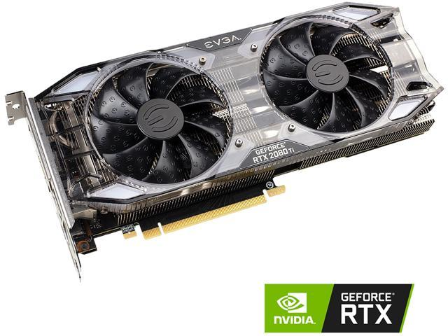 EVGA GeForce RTX 2080 Ti XC GAMING, 11G-P4-2382-KR, 11GB GDDR6, Dual HDB  Fans & RGB LED - Newegg com