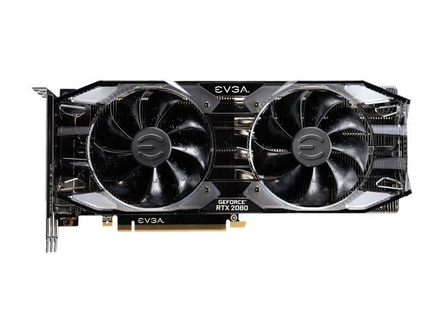 EVGA GeForce RTX 2080 XC ULTRA GAMING, 08G-P4-2183-KR, 8GB GDDR6, Dual HDB  Fans & RGB LED - Newegg com