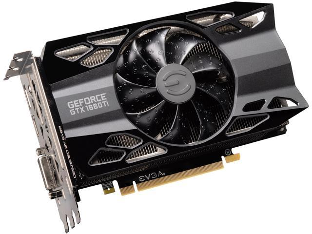 EVGA GeForce GTX 1660 Ti XC Black GAMING, 06G-P4-1261-KR, 6GB GDDR6, HDB  Fan - Newegg com
