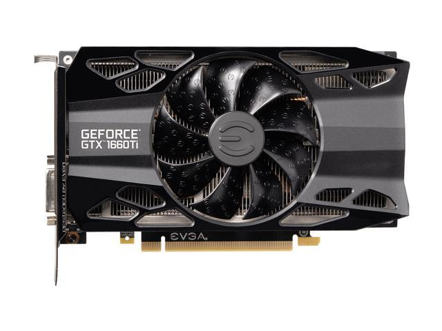 HDB Fan Graphics Card 06G-P4-1267-KR EVGA GeForce GTX 1660 Ti XC Ultra Gaming 6GB GDDR6