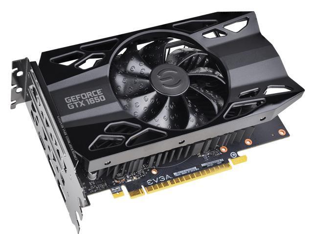 EVGA GeForce GTX 1650 XC Black GAMING Video Card, 04G-P4-1151-KR, 4GB GDDR5  - Newegg com