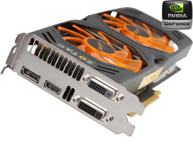 ZOTAC AMP! SUPERCLOCKED GeForce GTX 770 DirectX 11 1 ZT-70303-10P Video  Card - Newegg com