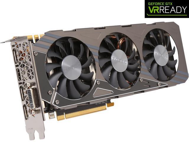 ZOTAC GeForce GTX 970 4GB AMP! Omega Core Edition, ZT-90106-10P - Newegg com