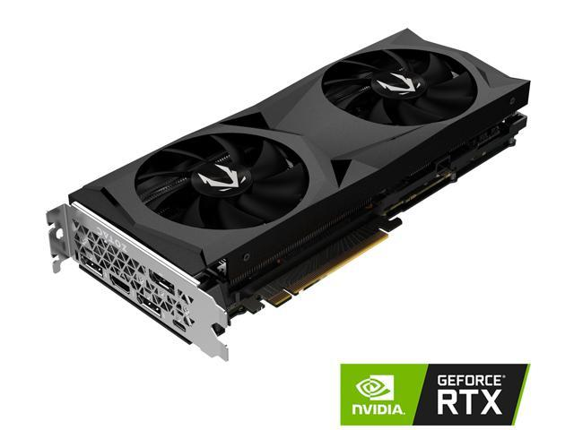 ZOTAC GAMING GeForce RTX 2070 AMP 8GB GDDR6 256-bit Graphics Card, IceStorm  2 0, Active Fan Control, Metal Backplate, Spectra RGB LED Lighting