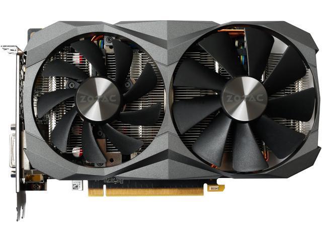 ZOTAC GeForce GTX 1060 DirectX 12 ZT-P10620A-10M Video Card - Newegg com