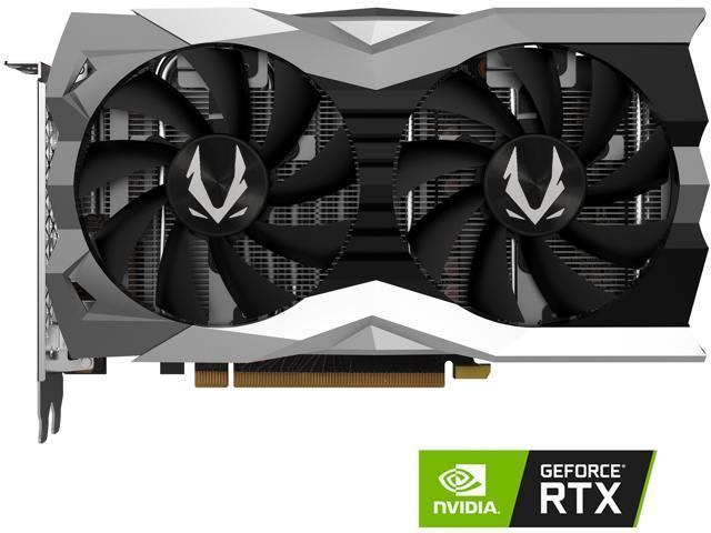 ZOTAC GAMING GeForce RTX 2060 Twin Fan 6GB GDDR6 192-bit Gaming Graphics  Card, Super Compact, IceStorm 2 0, ZT-T20600F-10M - Newegg com
