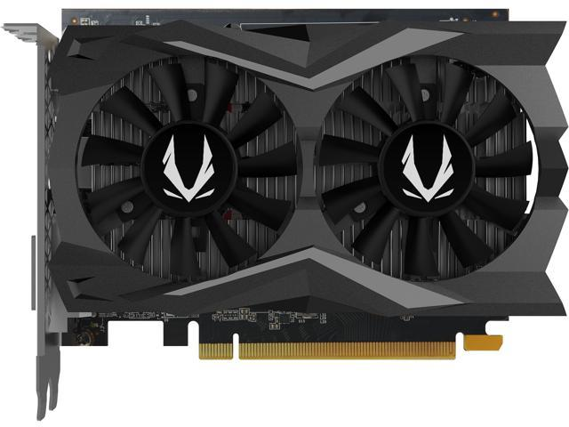 ZOTAC GeForce GTX 1650 SUPER DirectX 12.1 ZT-T16510F-10L 4GB 128-Bit GDDR6 PCI Express 3.0 HDCP Ready Video Card