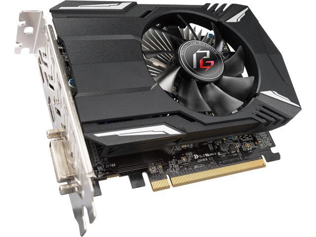 ASRock Phantom Gaming Radeon RX 550 DirectX 12 RX550 2G Video Card -  Newegg com