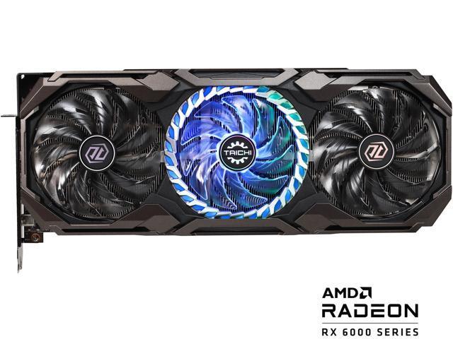 Image of ASRock Radeon RX 6800 XT Taichi Gaming Graphics Card with 16GB GDDR6, AMD RDNA 2 (RX6800XT TCX 16GO)