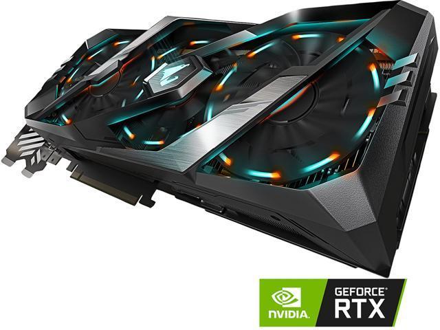 GIGABYTE AORUS GeForce RTX 2080 Ti DirectX 12 GV-N208TAORUS-11GC Video Card  - Newegg com