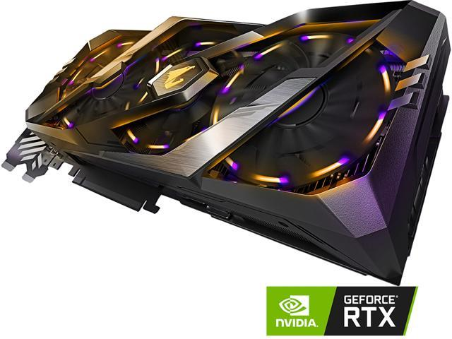 GIGABYTE AORUS GeForce RTX 2080 XTREME 8G Graphics Card, 3 x Stacked  WINDFORCE Fans, 8GB 256-Bit GDDR6, GV-N2080AORUS X-8GC Video Card -  Newegg ca