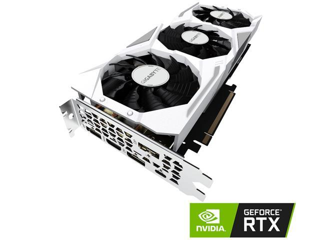 GIGABYTE GeForce RTX 2080 GAMING OC WHITE 8G Graphics Card, 3 x WINDFORCE  Fans, 8GB 256-Bit GDDR6, GV-N2080GAMINGOC WHITE-8GC Video Card - Newegg com