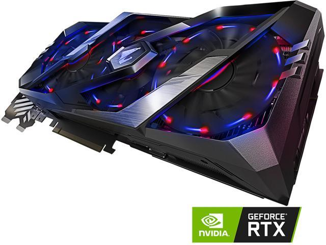 GIGABYTE AORUS GeForce RTX 2070 8G Graphics Card, 3 x Stacked WINDFORCE  Fans, 8GB 256-Bit GDDR6, GV-N2070AORUS-8GC Video Card - Newegg com