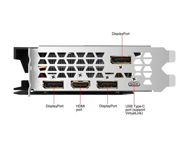 GIGABYTE GeForce RTX 2070 MINI ITX 8G Graphics Card, Mini