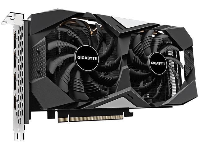 Gigabyte Radeon Rx 5600 Xt Windforce Oc 6g Rev 2 0 Graphics Card Pcie 4 0 6gb 192 Bit Gddr6 Gv R56xtwf2oc 6gd Video Card Newegg Com