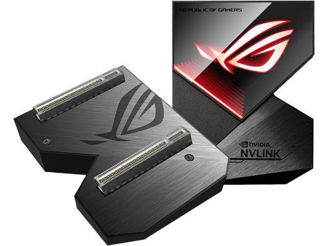 ASUS ROG GeForce RTX NVLink Bridge with Aura Sync RGB, 3 Slot - Newegg com