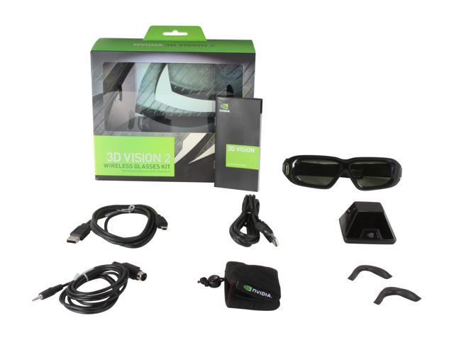 9fc8c14de740 NVIDIA 3D Vision 2 Wireless Glasses Kit (For Use With Any 3D Vision Ready  Display
