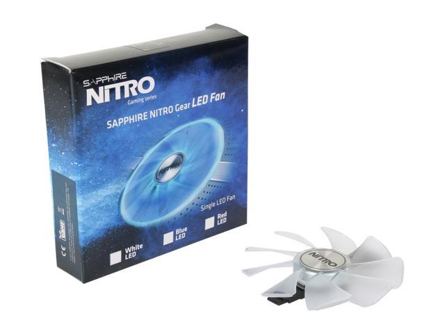 SAPPHIRE NITRO Gear LED Fan (Red Color) Model 4N001-02-20G - Newegg com
