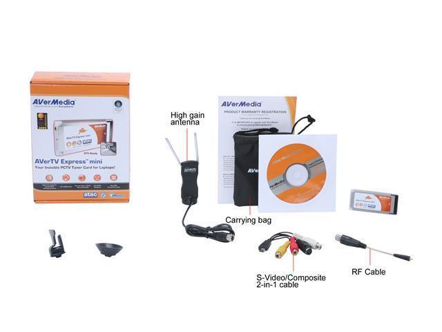 AVerMedia H968 AVerTV Express mini PCTV Tuner Card - Newegg com