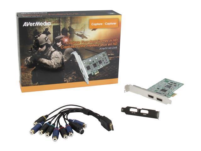AVerMedia C027 AVerTV HD DVR - Newegg com
