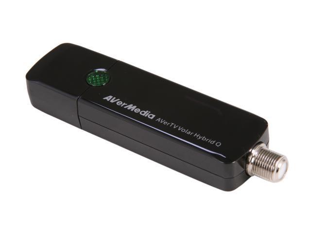 AVerMedia AVerTV Volar Hybrid Q TV Tuner - Functions: TV Tuning, Video  Recording, FM Tuning - USB - Electronic Program Guide - Newegg com