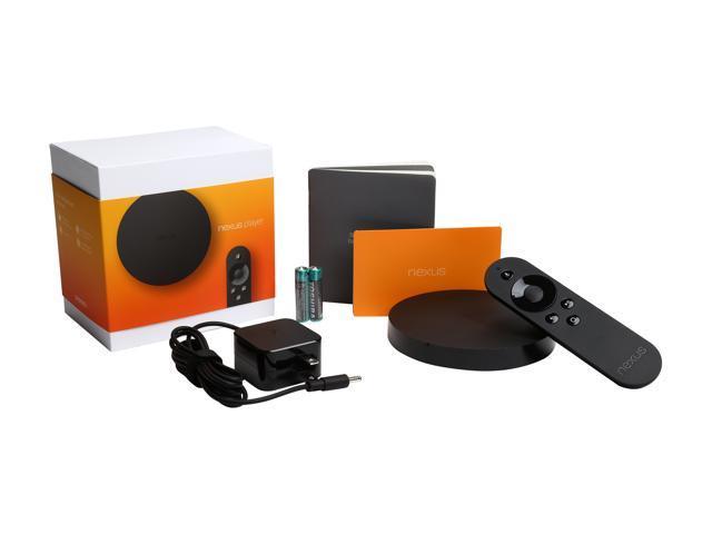ASUS Nexus Player Streaming Media Console TV500I Google Black