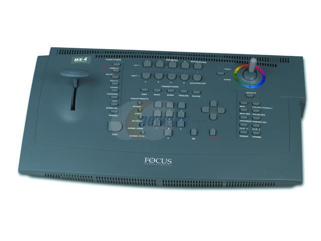 Focus Enhancements Asyf081601 Mx 4 Digital Video Mixer Ntsc
