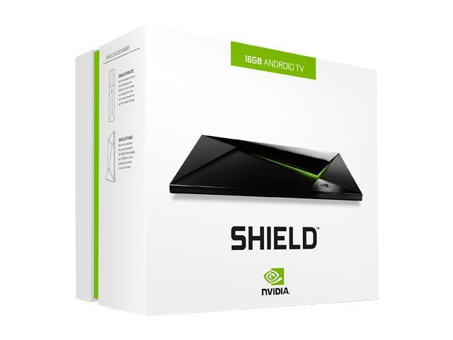 NVIDIA® SHIELD™ - 4K Streaming  Advanced Gaming  Android TV  - Newegg com