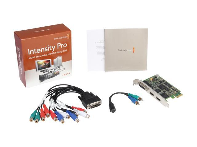 Blackmagic Design Intensity Pro Hdmi And Analog Editing Card Bintspro Newegg Com