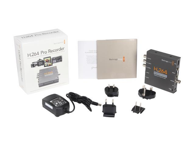 Blackmagic Design H 264 Pro Recorder Vidprorec Newegg Com