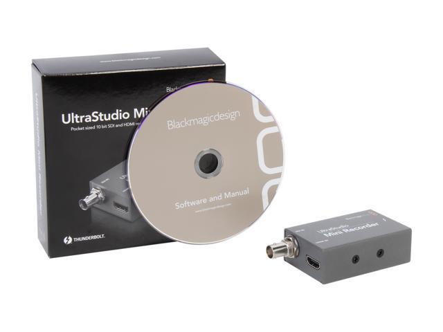 Blackmagic Design Ultrastudio Mini Recorder Capture Device Newegg Com