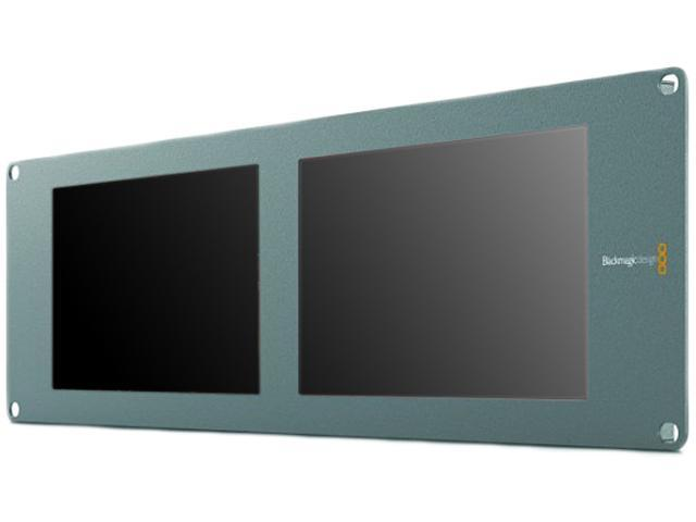 Blackmagic Design Smartview Duo Rackmountable Dual 8 Lcd Monitors Hdl Smtvduo Newegg Com