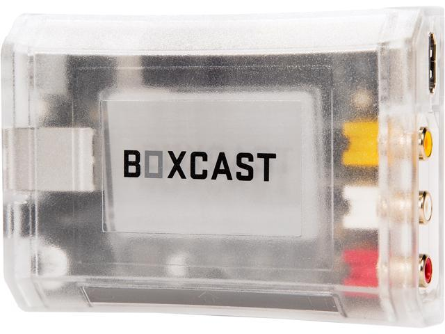 BoxCast BoxCaster HDSD2 (BXC-HDSD2) HD Live Video Streaming Encoder