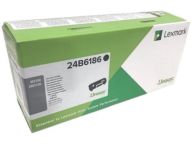 On-Site Laser Compatible Toner Replacement for Lexmark 24B6186 Works with: M3150 XM3150 Black