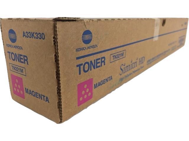 Magenta Toner Cartridge for Konica Minolta A33K330 bizhub C224, bizhub  C224e, bizhub C284, bizhub C284e, bizhub C364, bizhub C364e, Genuine Konica