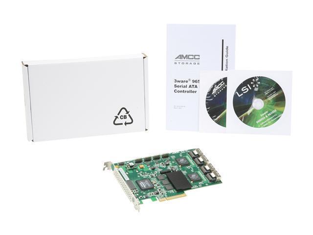 3WARE 9650SE-16ML KIT CONTROLLER SATAII RAID 16CHNL PCI-E 256MB FULL HEIGHT RETAIL