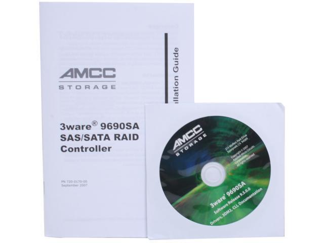 3ware 9690SA-8I-KIT Controller Card - Newegg com